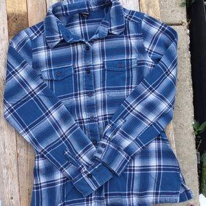 Patagonia button down flannel shirt